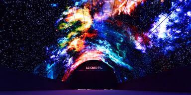 LG beeindruckt mit weltgrößtem OLED-Tunnel