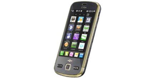 LG Maxx: Smartphone mit 1 GHz-Prozessor