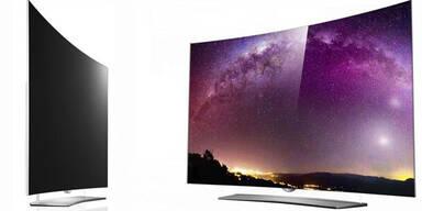 Superflacher 4K-OLED-Fernseher von LG
