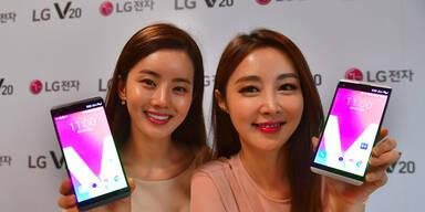 LG greift mit dem V20 das iPhone 7 an