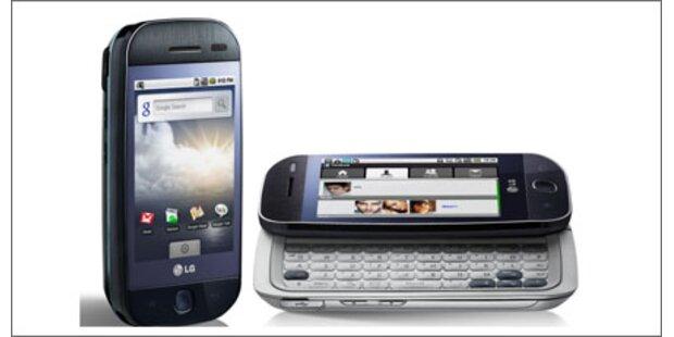 LG präsentiert sein erstes Android-Handy