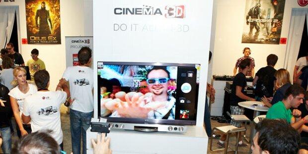 LG zeigt neueste Cinema 3D-Geräte