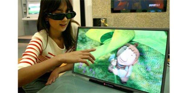3D-LCD-Display mit FullHD-Auflösung