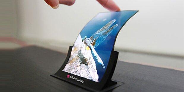 LG bringt flexibles Smartphone-Display