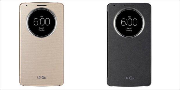 LG G3 mit QHD-Display und Laser-Technik