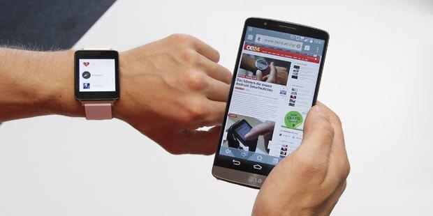 LG G Watch: Google-Smartwatch im Test