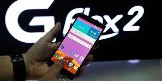 Alle Infos vom neuen LG G Flex 2
