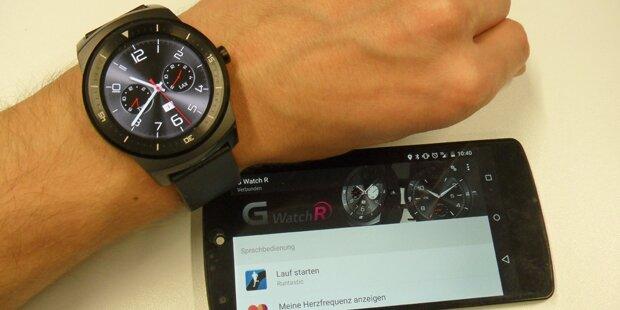 Neue LG G Watch R im oe24.at-Test