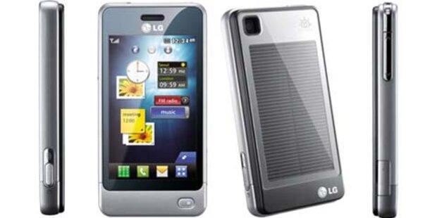 LG GD510: Erstes Handy mit Solarzellen