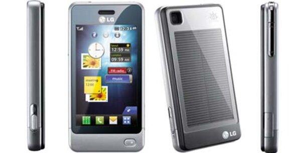 LG GD510: Handy mit Solarzellen
