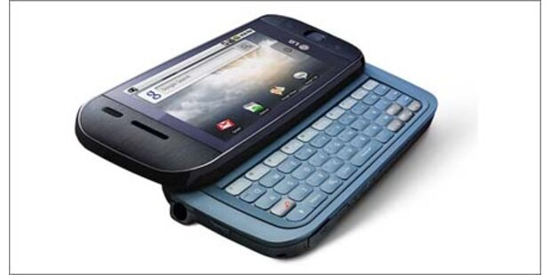 LG präsentiert neues Android-Smartphone