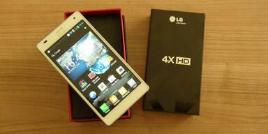 LG Optimus 4D HX im großen oe24.at-Test