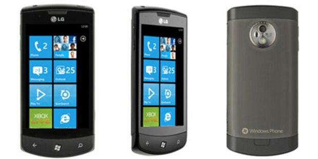 LG ist mit WP7-Verkäufen unzufrieden