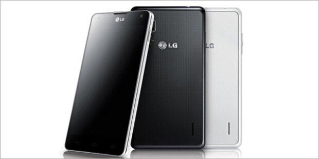 LG zeigt neues Quadcore-Flaggschiff