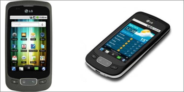 LG Optimus One ist ein Verkaufsschlager