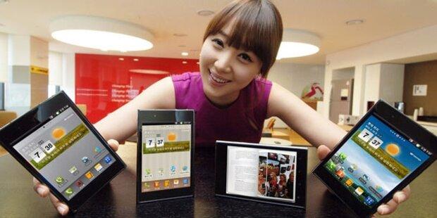 LG Optimus Vu mit 5-Zoll-Display kommt