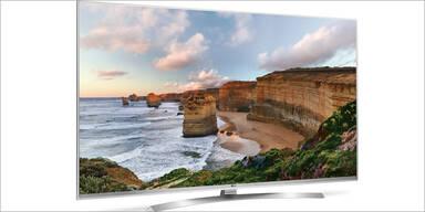 UHD-TVs von LG holen sich Testsieg