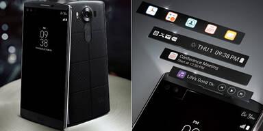 LG V10 kommt mit Zweit-Display