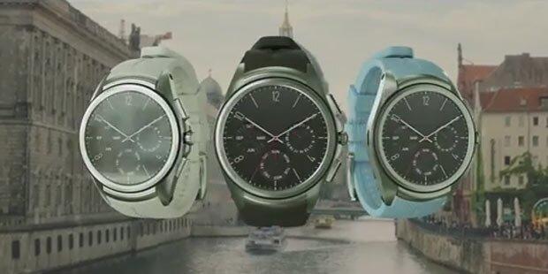 LG bringt runde Smartwatch mit LTE