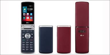 """LG bringt Klapp-Smartphone """"Wine"""""""