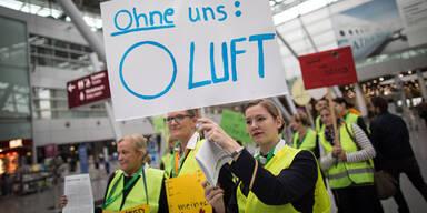 Lufthansa: 10 Österreich-Flüge fallen aus