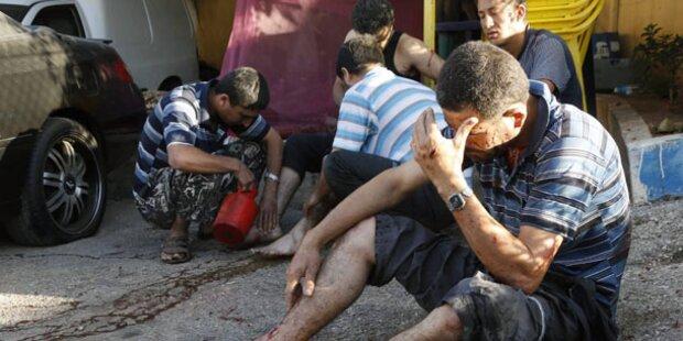 Raketen schlagen in Beirut ein