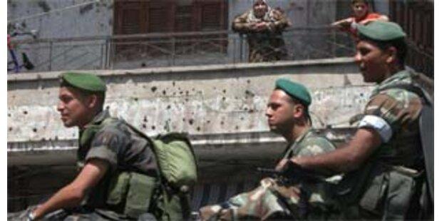 Lage im Libanon entspannt sich
