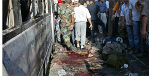 Mindestens 18 Tote bei Anschlag im Libanon