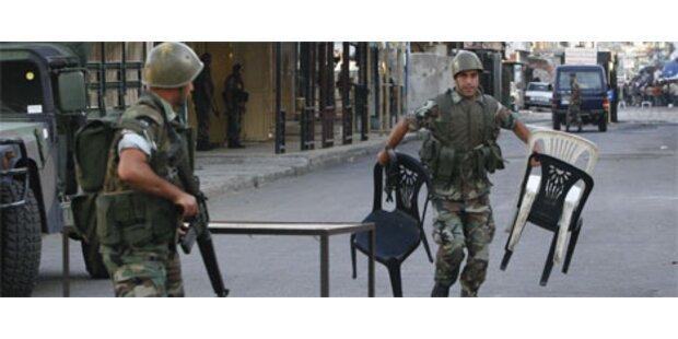 Drei Tote bei Gefechten im Libanon