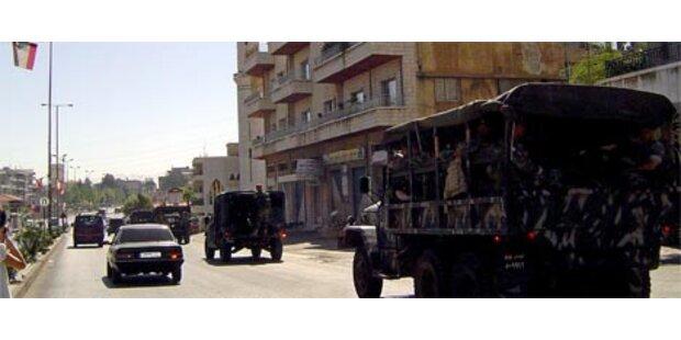 Sunniten und Schiiten bekriegen sich im Libanon