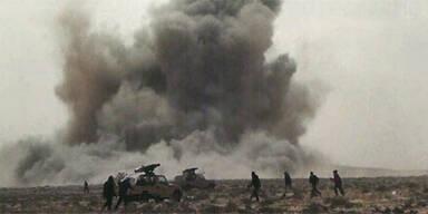 Detonation in Libyen