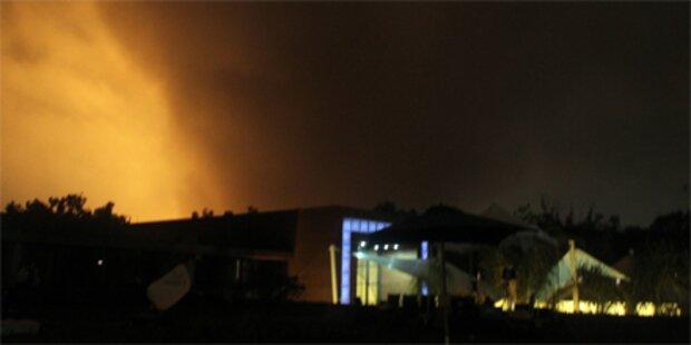 Schwere NATO-Angriffe in Tripolis