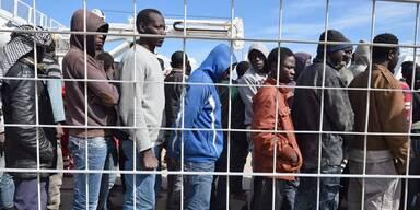 Libyen Flüchtlinge