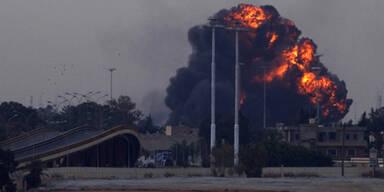 So brutal tobt der Kampf in Libyen