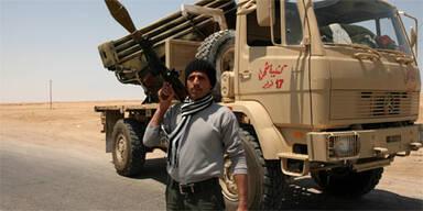 Rebellen-Erfolge gegen Gaddafis Truppen