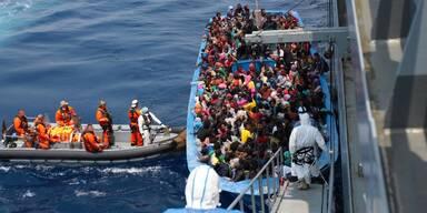 Mehr als 90 Flüchtlinge bei Bootsunglücken vor Libyen ertrunken
