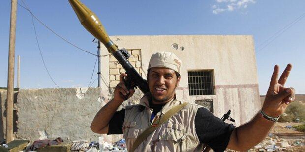 Milizen-Camps in Benghazi gestürmt