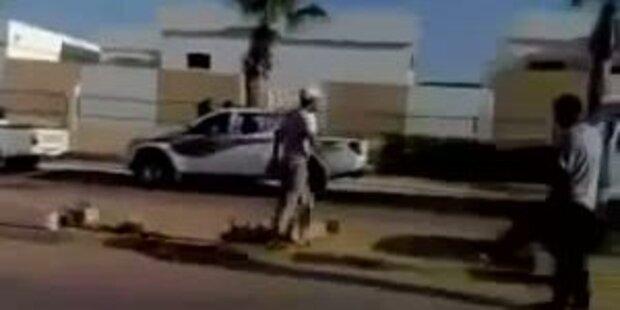 Schüsse bei den Unruhen in Libyen