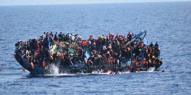 Über hundert Flüchtlinge vor Libyens Küste vermisst