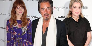 Als Pacino, Emma Stone, Catherine Deneuve