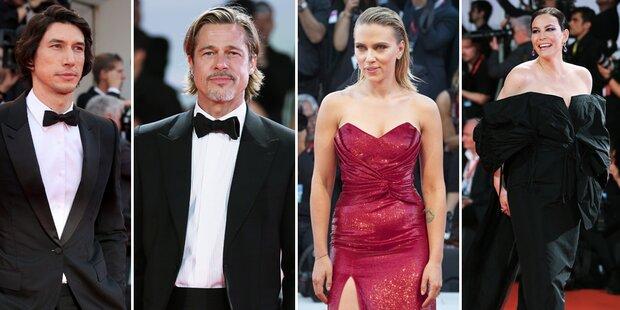 Startrubel am Lido mit Pitt und Johansson