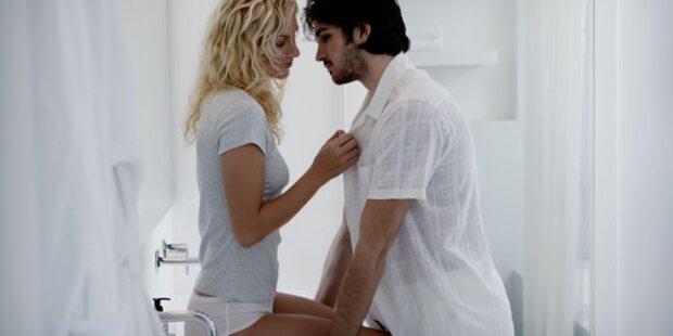 Jeder 6. hat gern Sex im Badezimmer