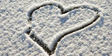 Versprühen Sie Winter-Romantik
