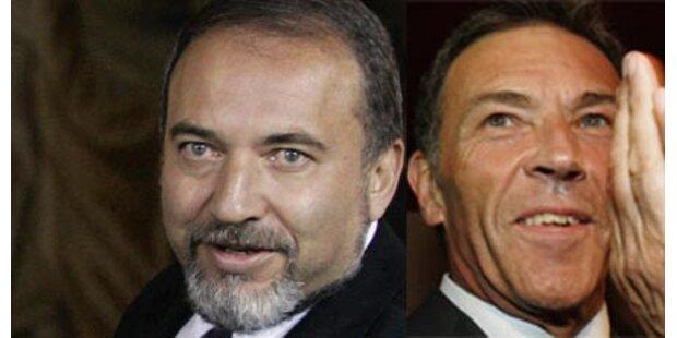 Briten vergleichen Lieberman mit Haider