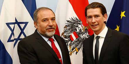 Israels Außenminister geheim in Wien