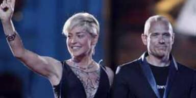 Sharon Stone & Gerry Keszler