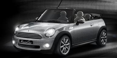 Mini Cabrio von Designer Kenneth Cole. Bild: Hersteller