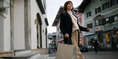 Shopping in der Kitzbüheler Altstadt