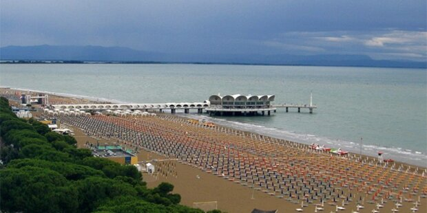 Regen-Wetter auch in Italien
