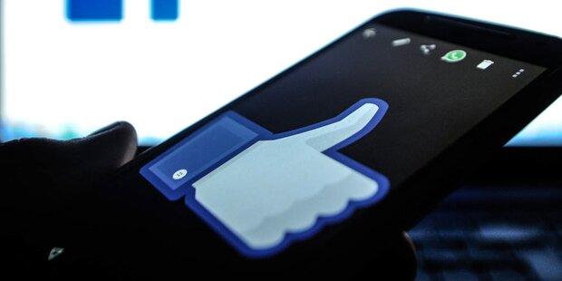 Für Facebook-Likes Kind aus Fenster gehalten